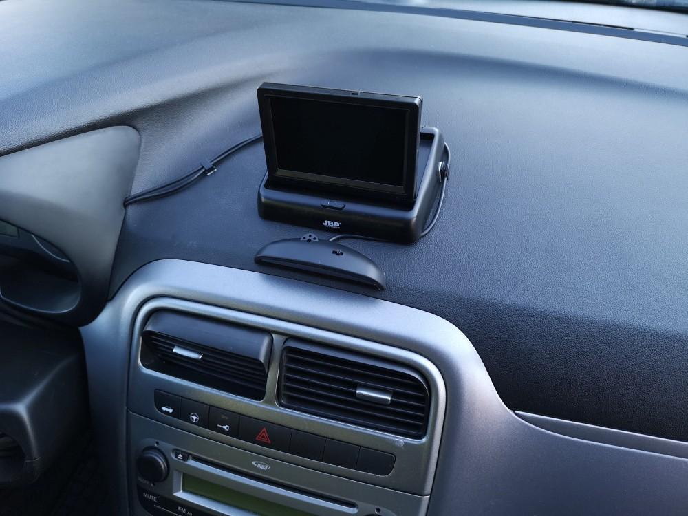Montaż czujników i kamery cofania Fiat Grande Punto rocznik 2010