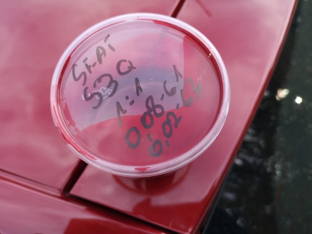Montaż czujników cofania w kolorze nadwozia Seat Ibiza 2013