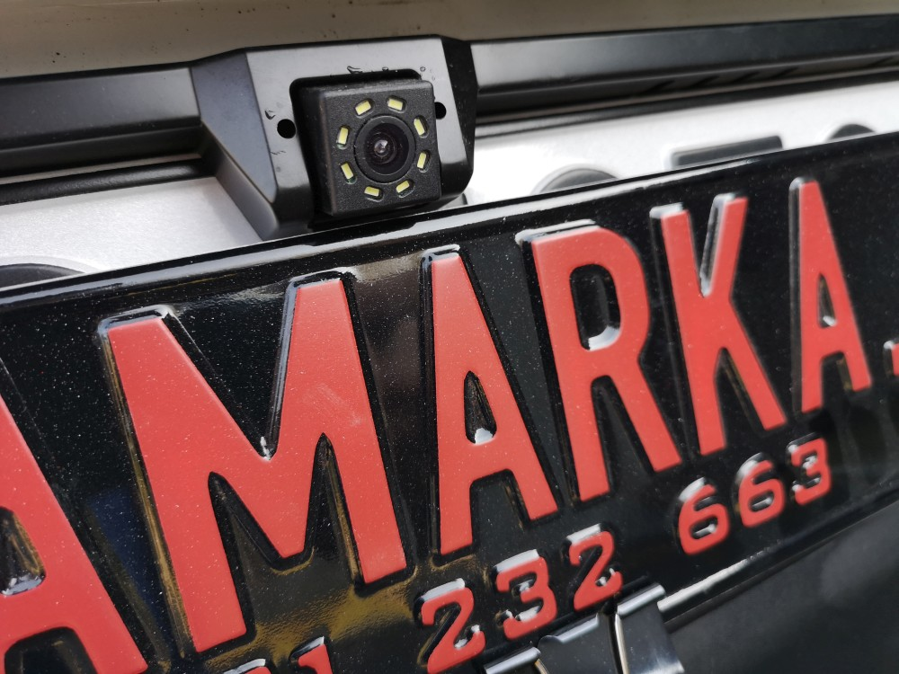 Montaż czujników cofania i kamery Renault Clio 2013