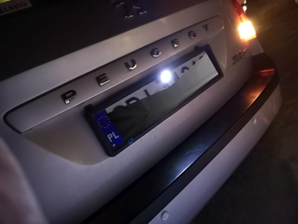 Czujniki i kamera cofania Peugeot