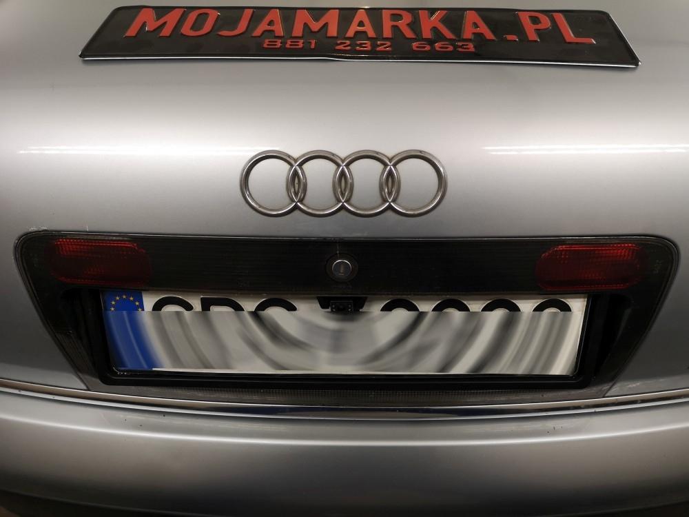 Montaż kamery cofania Audi a6 rocznik 1999