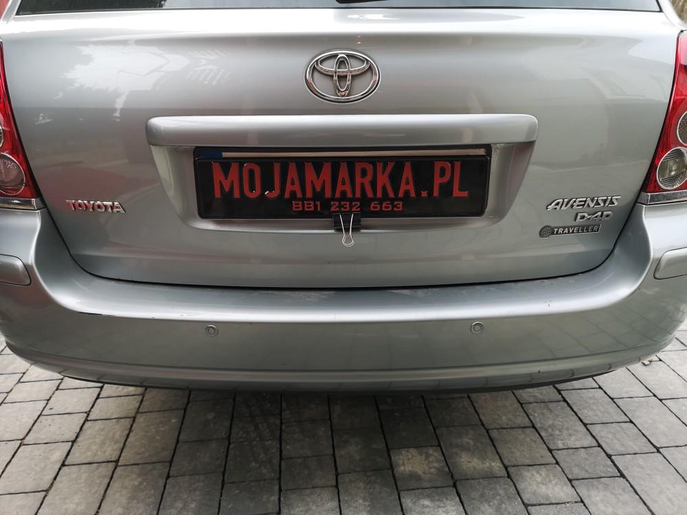 Montaż czujników parkowania Toyota Avensis kombi rocznik 2006