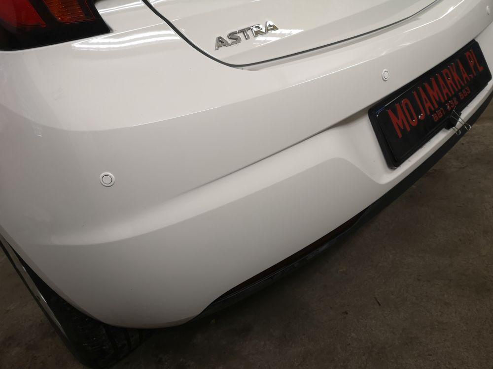 Montaż czujników parkowania  Opel Astra K hatchback rocznik 2016
