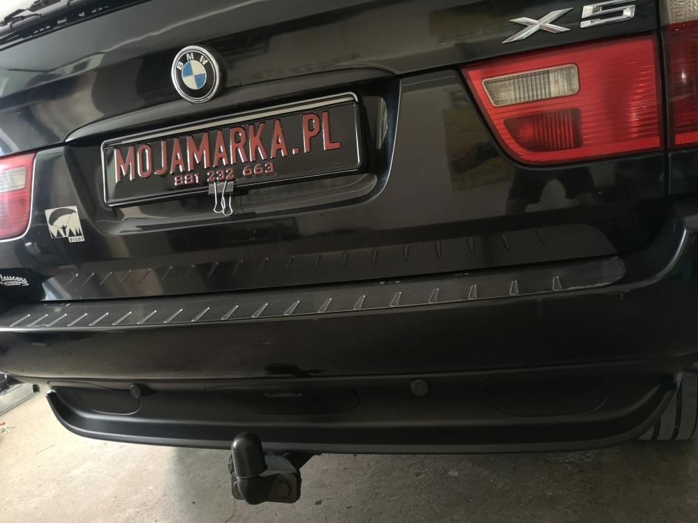 Montaż kolorowej kamery BMW X5