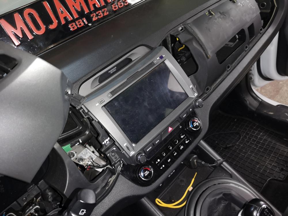 Kamera cofania Sportage